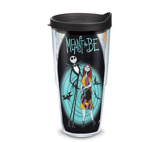 "Nightmare Before Christmas ""Meant To Be"" 24 oz. Tervis Tumbler"