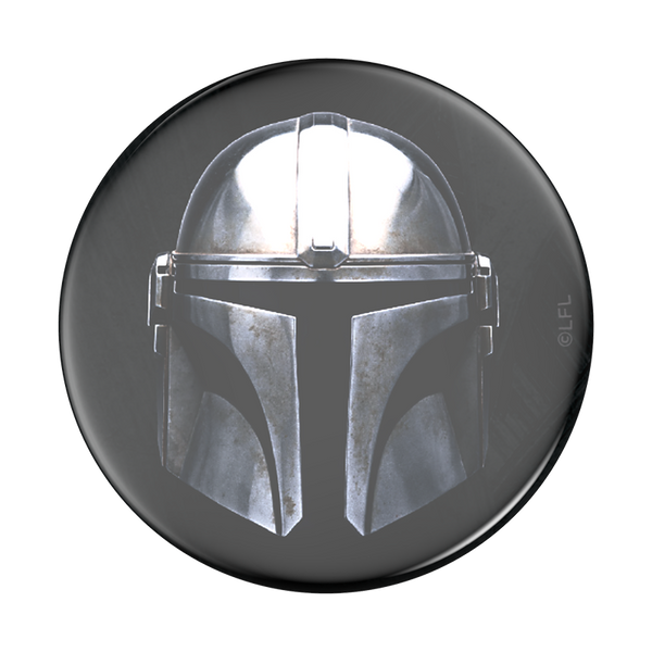 The Mandalorian Mandalorian Mask Pop Socket