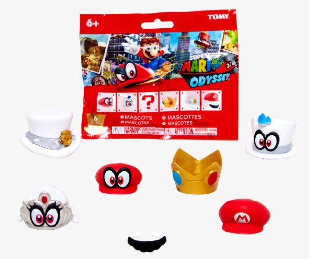 Super Mario Odyssey Bottle Cap Mascots Blind Package - Kryptonite Character Store