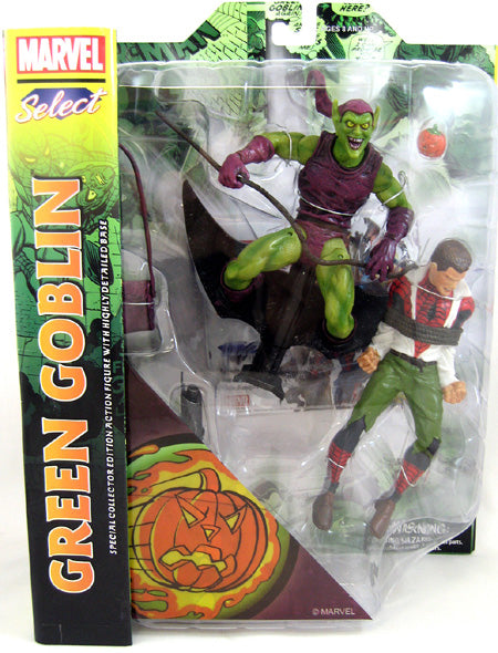 Marvel - Spider-Man - Classic Green Goblin vs. Spider-Man Select Action Figure