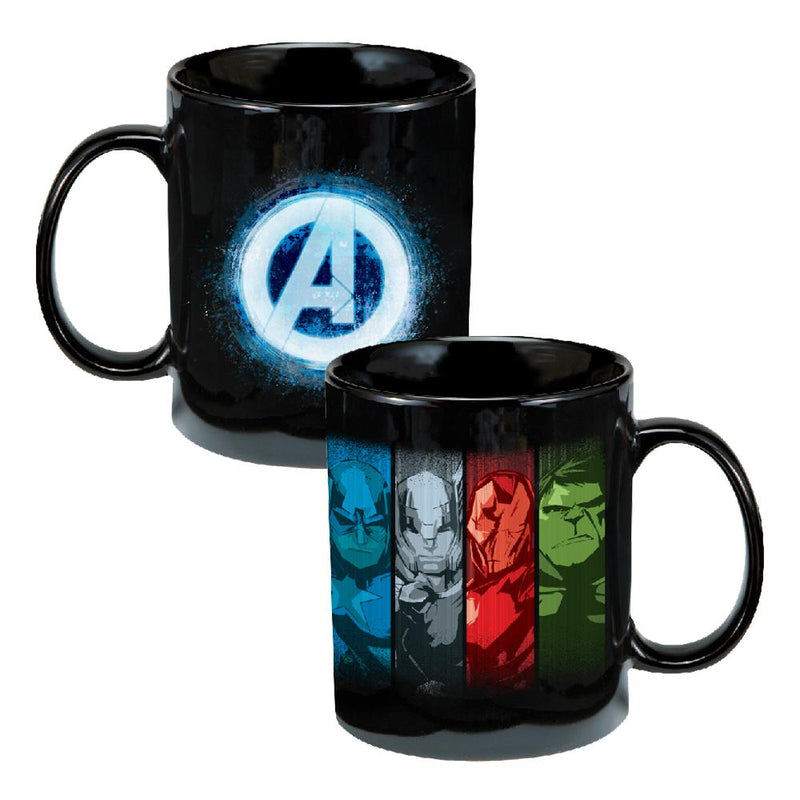 Marvel Avengers Assemble 12 oz. Ceramic Mug- Kryptonite Character Store