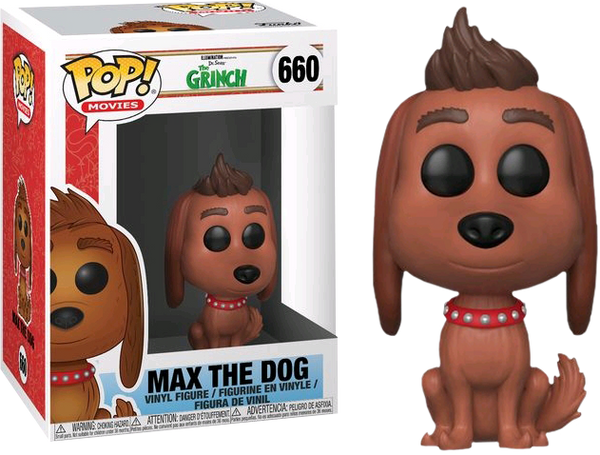The Grinch Max The Dog Pop Vinyl Figure - Kryptonite Character Store