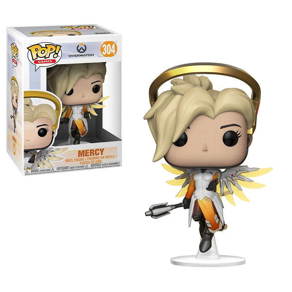 Pop Games: Overwatch-Mercy, Multicolor- Kryptonite Character Store