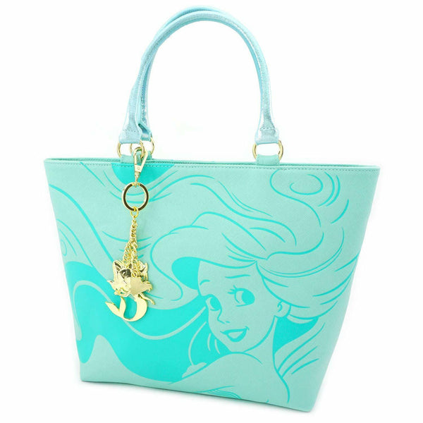 Disney Little Mermaid Saffiano Tote Bag