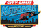 Superman Metropolis City Limit Embossed Tin Sign