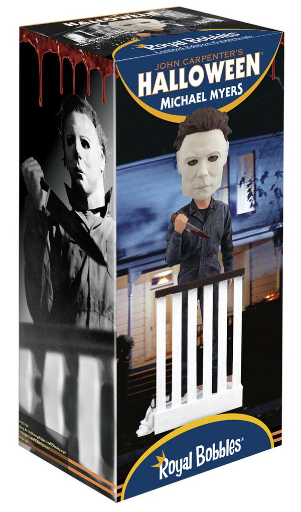 Michael Myers Bobblehead from John Carpenter's 1978's Halloween Slasher Film - Kryptonite Character Store