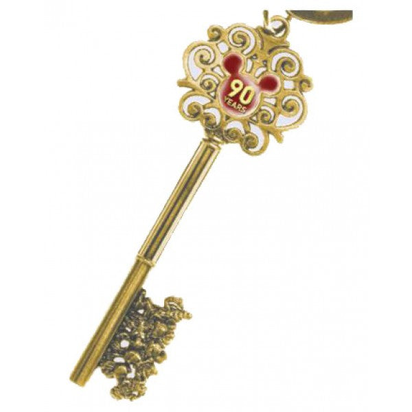 90 Years Mickey Master Key - Pewter Key Ring