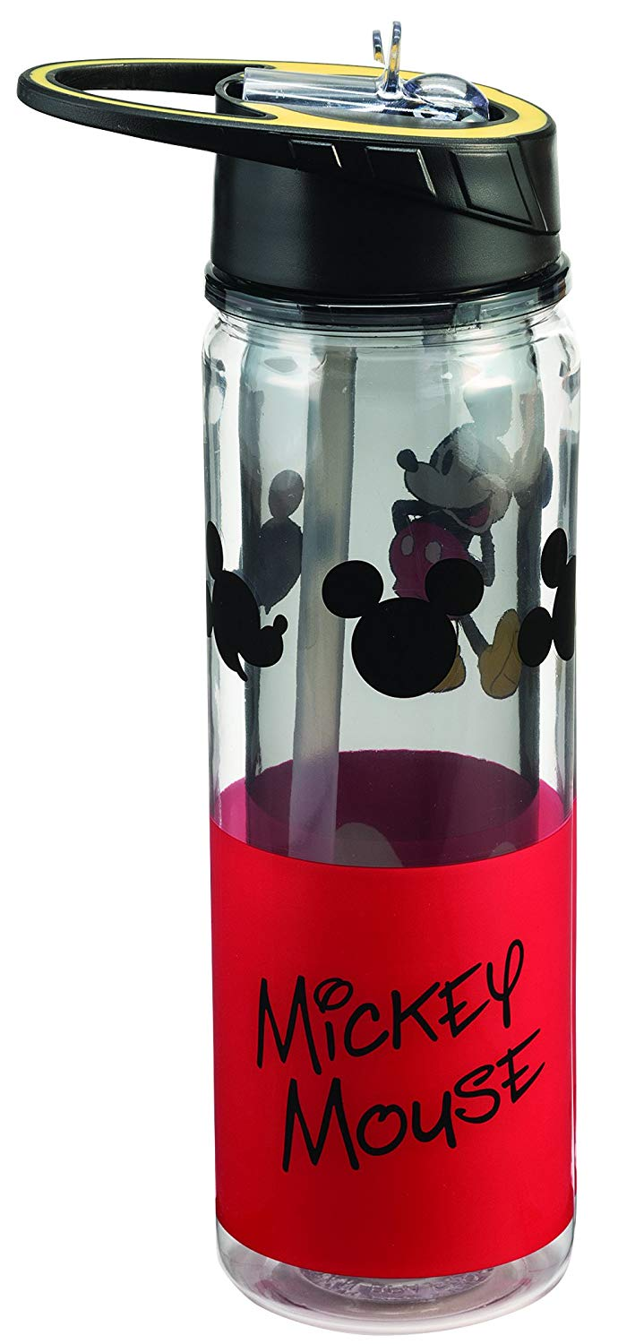 Disney Mickey Mouse 18 Oz. Tritan Water Bottle - Kryptonite Character Store