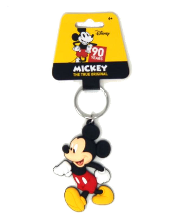 Disney - Mickey Mouse Walking - Soft Touch PVC Key Ring - Kryptonite Character Store