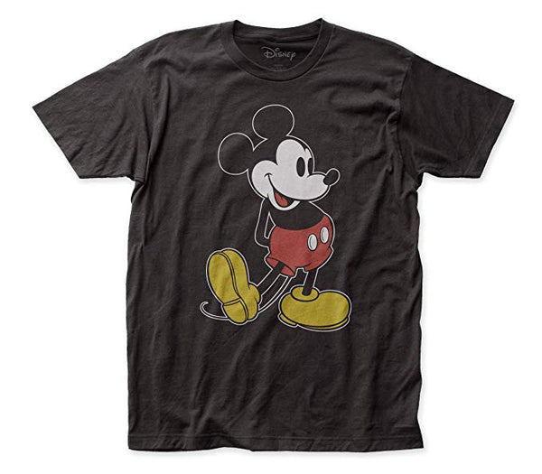 Disney - Mickey Mouse - Pose Adult Fitted Jersey tee - Kryptonite Character Store