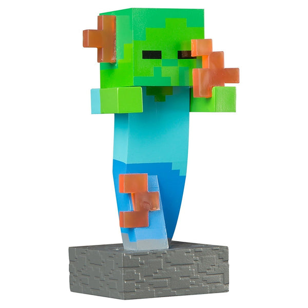 Minecraft - Adventure Vinyl Figure (Flaming Zombie) - Kryptonite Character Store