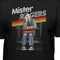 Mister Rogers Smiling Leaning on Trolley Premium Fitted T-shirt -  Kryptonite Character Store