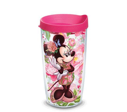 Disney: Minnie Mouse Floral 16 oz. Tervis Tumbler- Kryptonite Character Store
