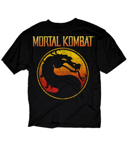 Mortal Kombat Logo Licensed Graphic T-Shirt