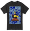 My Hero Academia - Group Character Panels All Might Adult T-shirt - Kryptonite Character Store