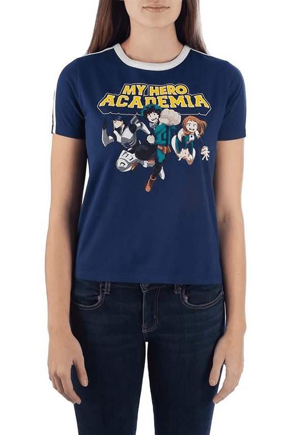 My Hero Academia Cropped Officially Licensed  T-Shirt - Kryptonite Character Store