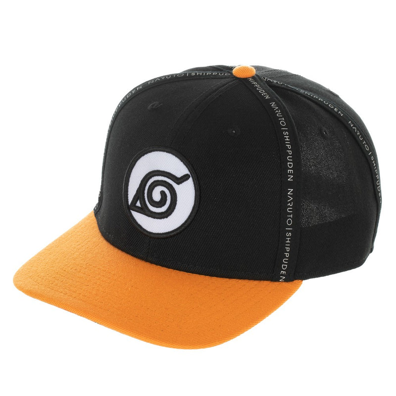 Naruto - Shippuden Sript Taping Pre-Curved Snapback - Kryptonite Character Store