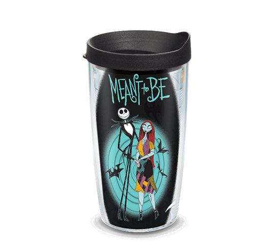 "Nightmare Before Christmas ""Meant to Be"" 16 oz. Tervis Tumbler- Kryptonite Character Store"
