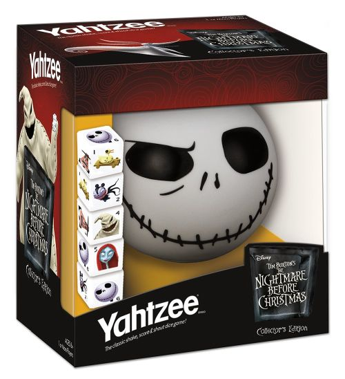 Nightmare Before Christmas Edition Yahtzee Game