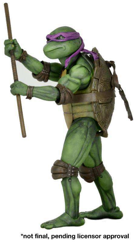 NECA Teenage Mutant Ninja Turtles Donatello Action Figure