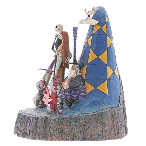Nightmare Before Christmas Carved by Heart Figurine - Kryptonite Character Store