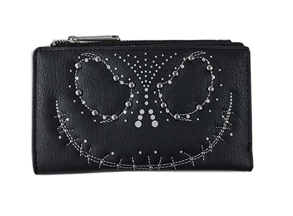 Loungefly - Disney - Nightmare Before Christmas Jack Studded Clutch Wallet - Kryptonite Character Store