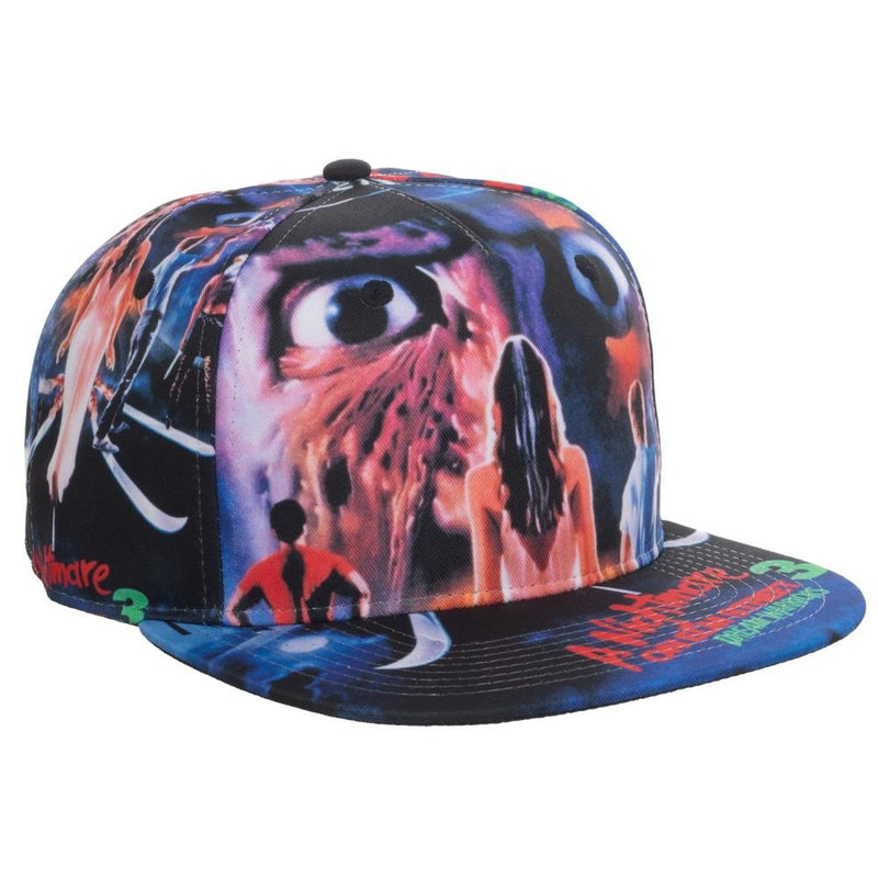 Nightmare on Elm Street - Poster Print Snapback Hat - Kryptonite Character Store