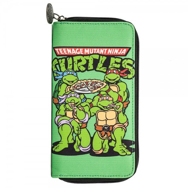 Teenage Mutant Ninja Turtles Large Zip Around Wallet - Kryptonite Character Store