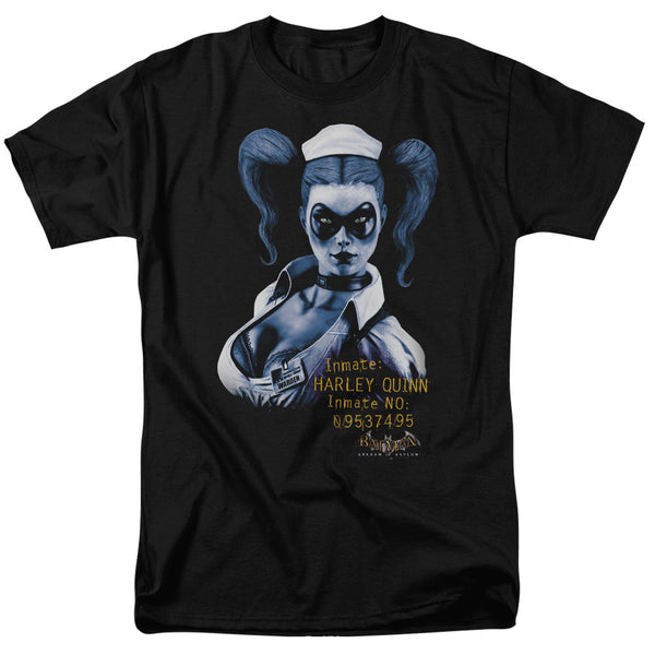 Arkham Harley Quinn Nurse Adult Fitted T-shirt