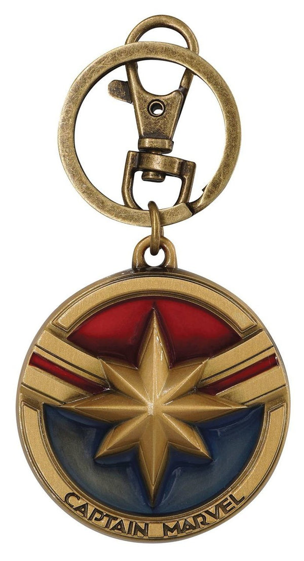 Captain Marvel Logo Keychain