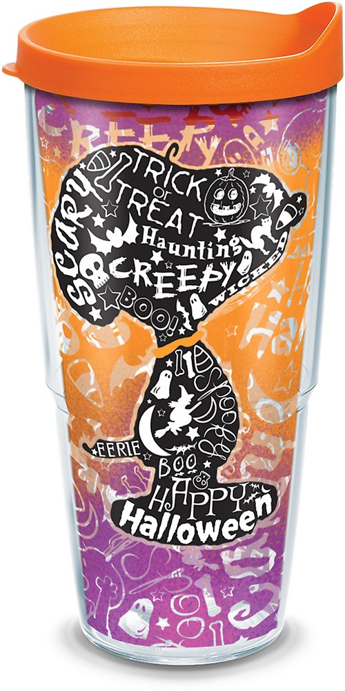 Tervis - Peanuts - Halloween Collage Insulated Tumbler, 24 oz - Kryptonite Character Store