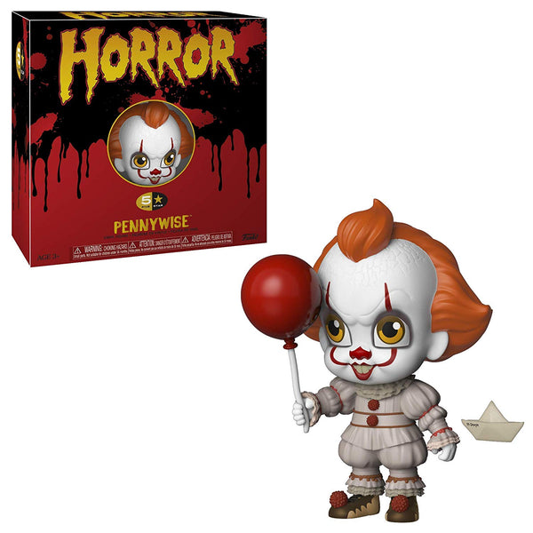 Funko 5 Star: Horror, It - Pennywise Collectible Figure- Kryptonite Character Store