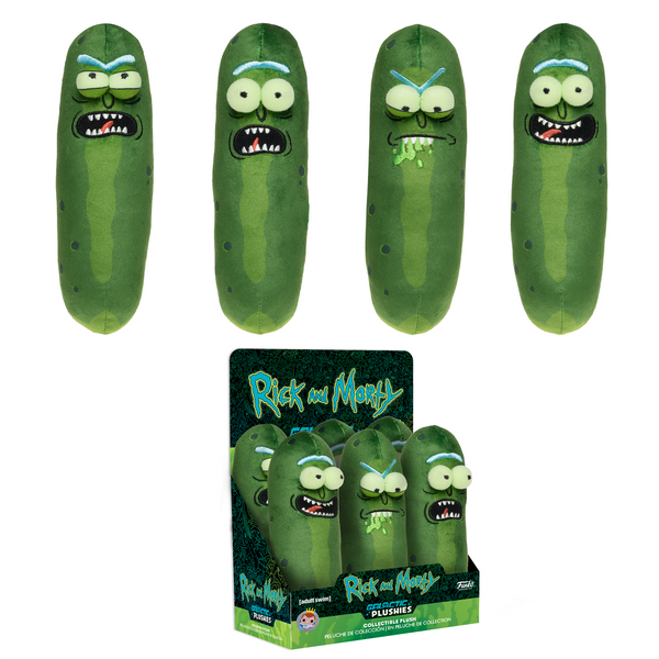 "Funko Galactic Plushies: Rick & Morty - 7"" Pickle Rick"