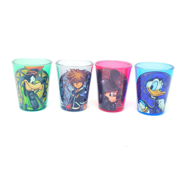 Disney kingdom Hearts Main Characters mini Glass Set- Kryptonite Character Store