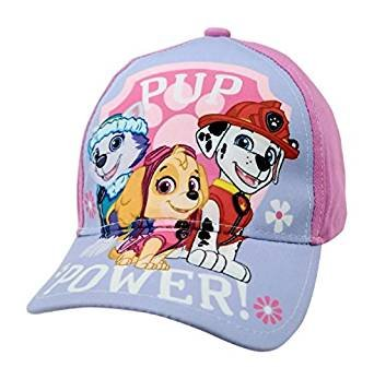 Paw Patrol - Girls Pink Baseball Cap Hat - Kryptonite Character Store