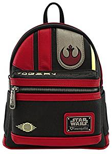 Loungefly Star Wars The Last Jedi Poe Dameron Mini Cosplay Backpack