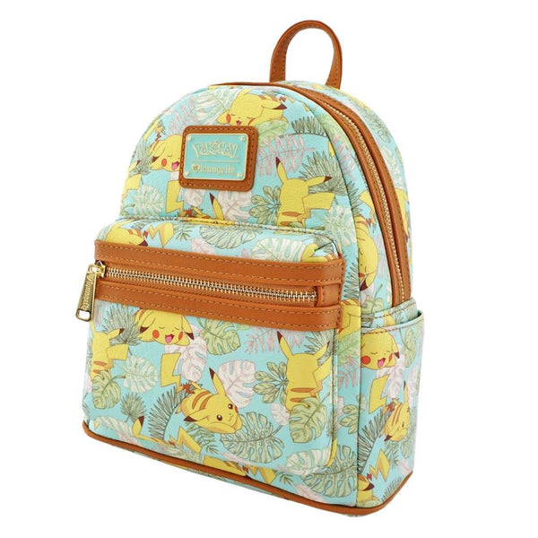Loungefly x Pokemon Pikachu Mint Leaves Mini Backpack