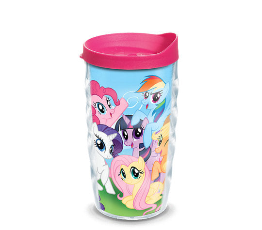 My Little Pony™ - Mane 6  10 oz Wavy Tumbler - Kryptonite Character Store