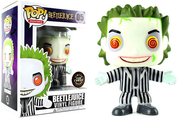 Beetlejuice - Beetlejuice (Glow in The Dark CHASE Variant) POP Movie Vinyl Figure