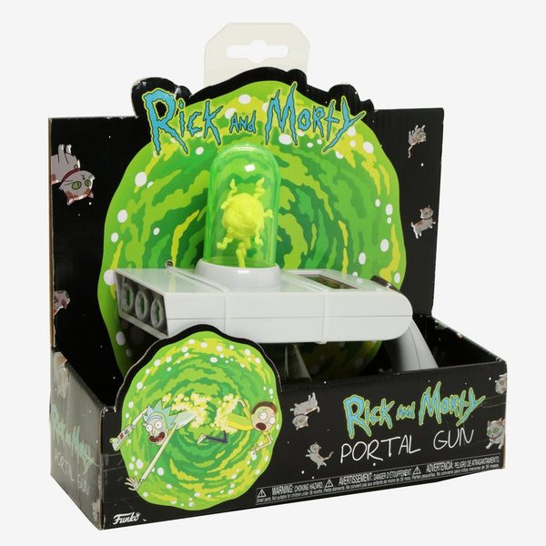 Funko Rick and Morty Portal Gun Toy- Kryptonite Character Store
