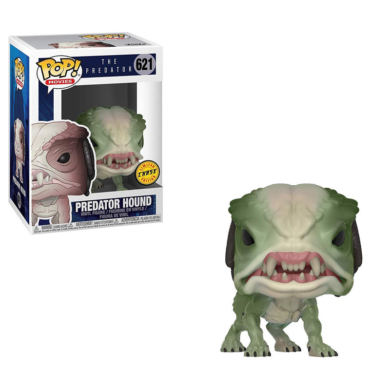 Funko - Pop Movies - Predator Hound Green CHASE Collectible Figure