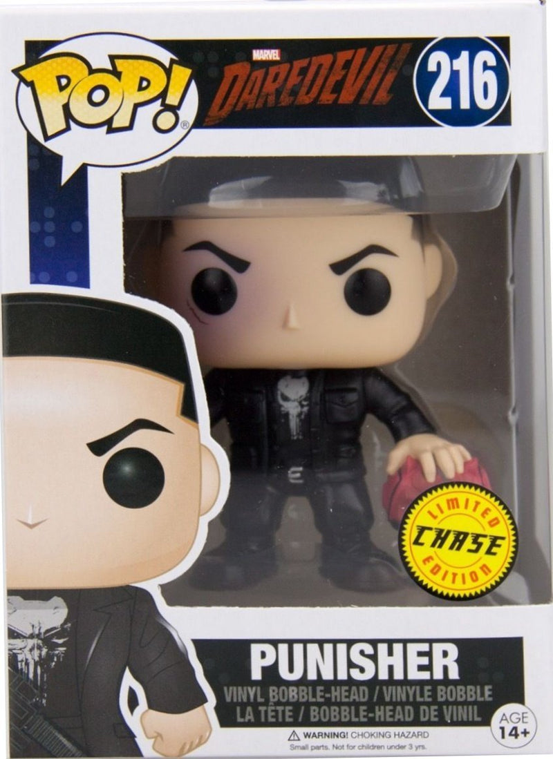 Funko Punisher Chase Pop - Kryptonite Character Store
