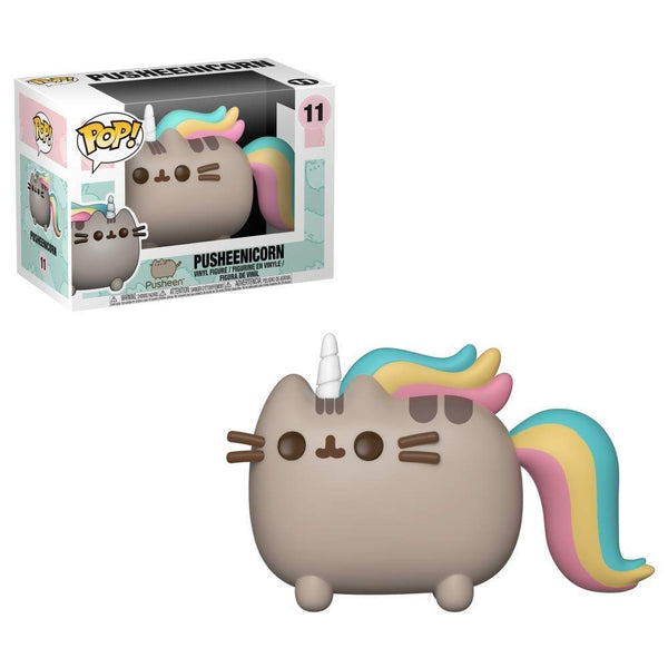 Funko Pop Animation: Pusheen - Pusheenicorn Collectible Figure, Multicolor - Kryptonite Character Store