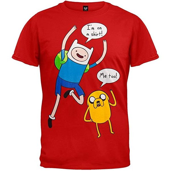 Bioworld Adventure Time Finn and Jake Adult T-shirt
