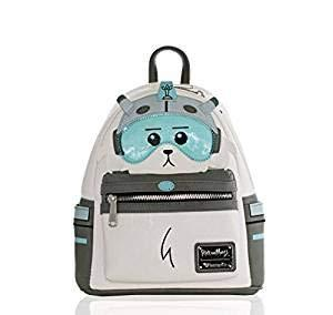 Rick and Morty Snowball Mini Backpack Leather - Kryptonite Character Store
