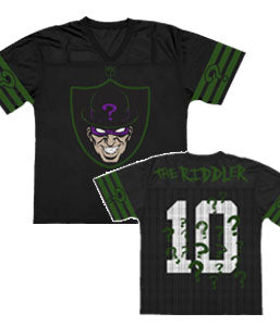 DC Comics - The Riddler - Fashion Adult Jersey Style Top