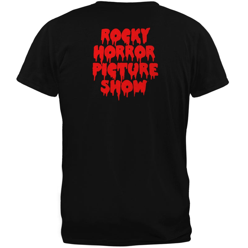 Rocky Horror Show Lips Adult Fitted T-Shirt
