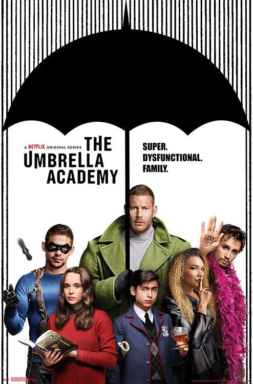 Umbrella Academy - Group Wall Poster - Kryptonite Character Store