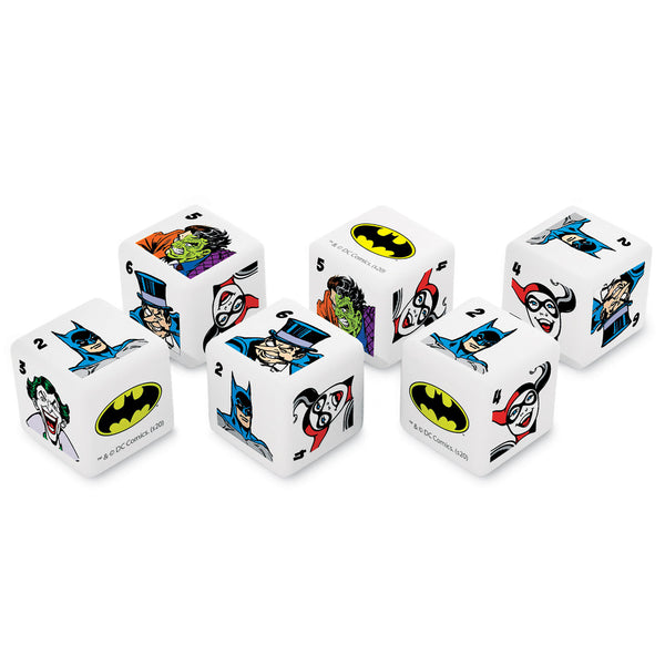 Classic Batman Heroes & Villains Dice Set - Set of 6