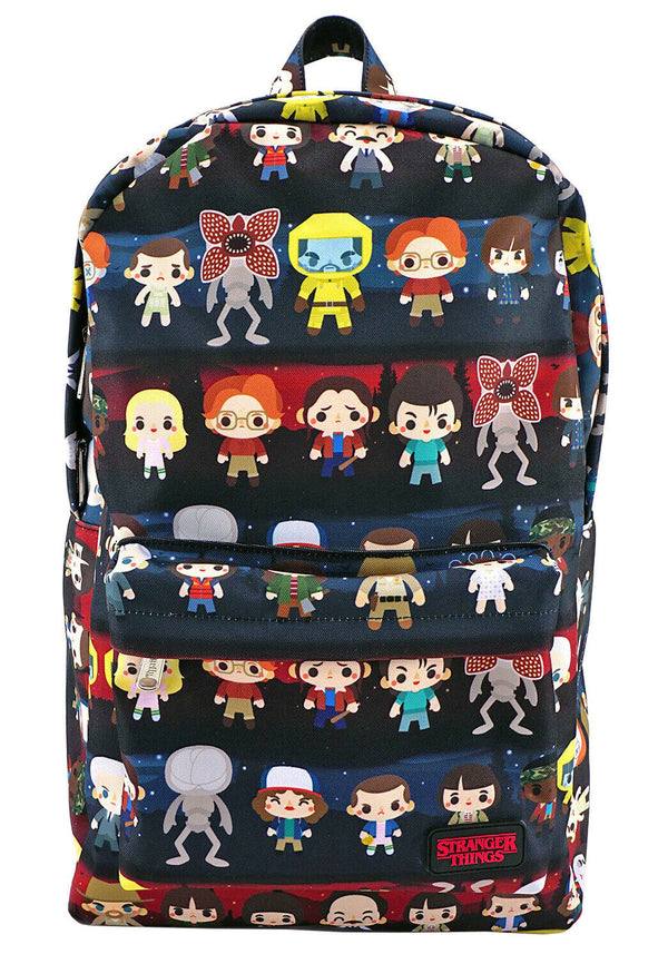 Stranger Things Baby Character All Over Print Backpack